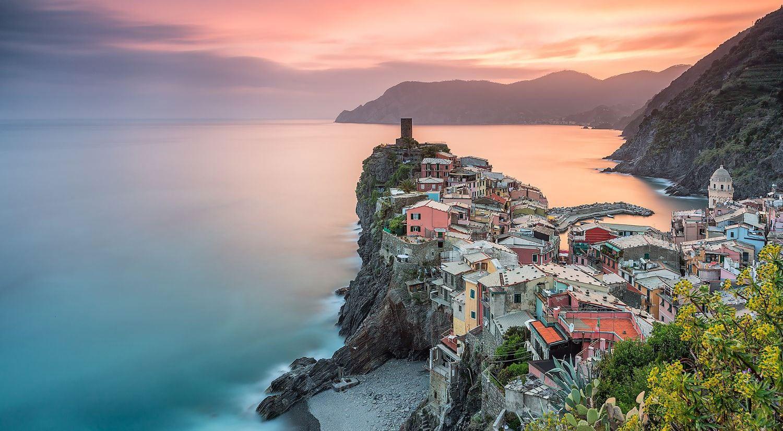 Corso fotografia di paesaggio Cinque Terre
