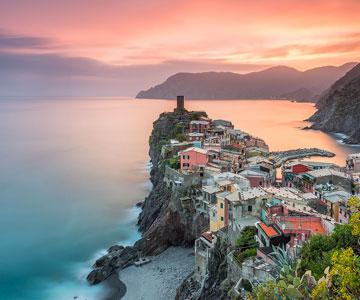 corso di fotografia alle cinque terre italia