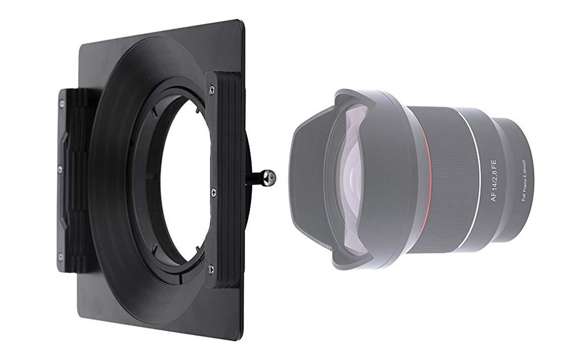 Holder porta filtri per Samyang AF 14mm f2.8