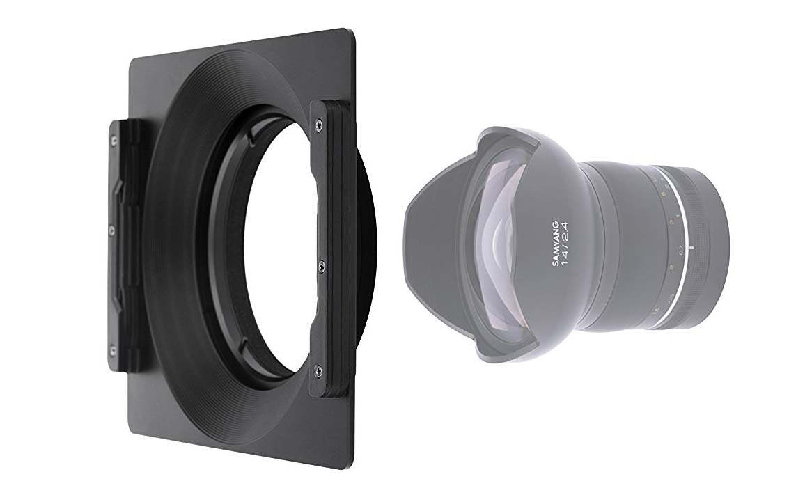 Holder porta filtri per Samyang XP Premium MF 14mm f2.4