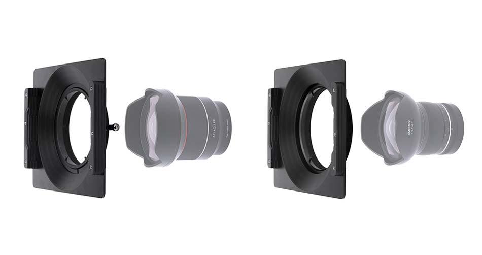 Holder filtri 150 per Samyang 14mm XP f/2.4 e Samyang 14mm f/2.8 FE