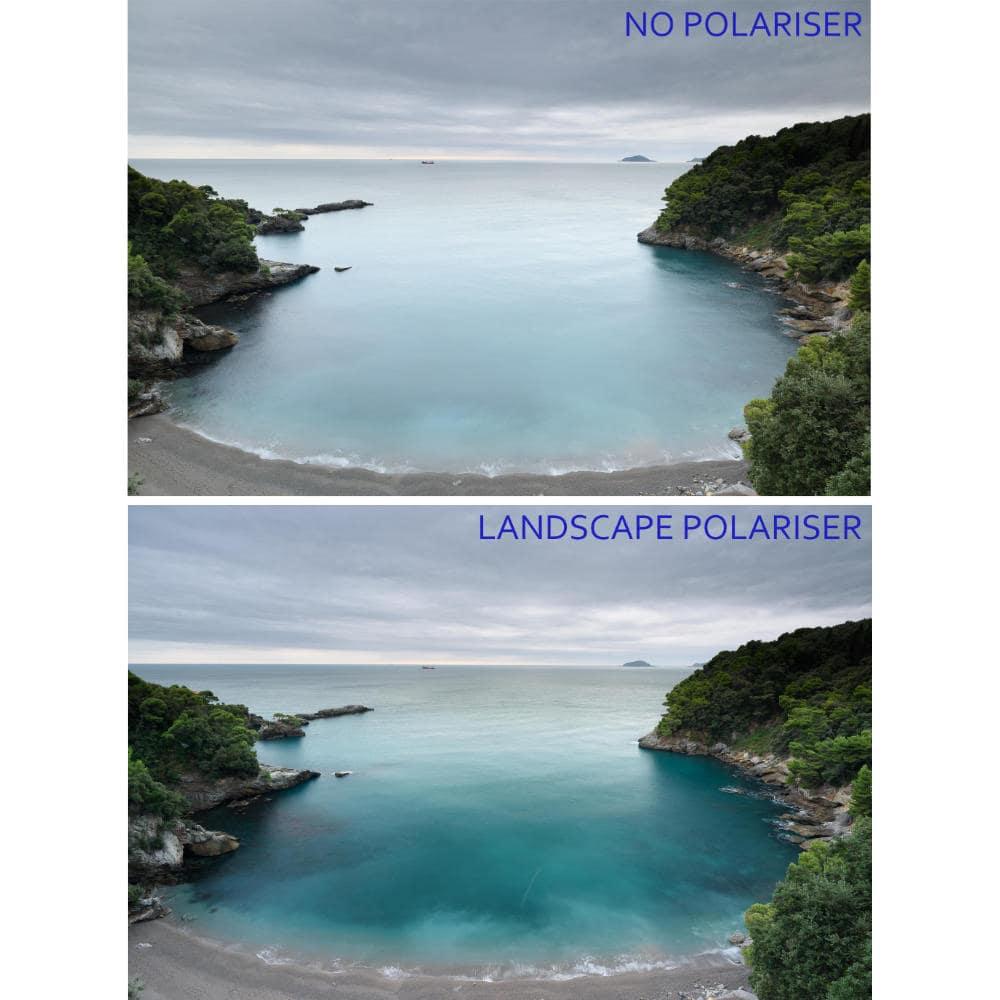 NiSi V5 Pro polarizzatore landscape