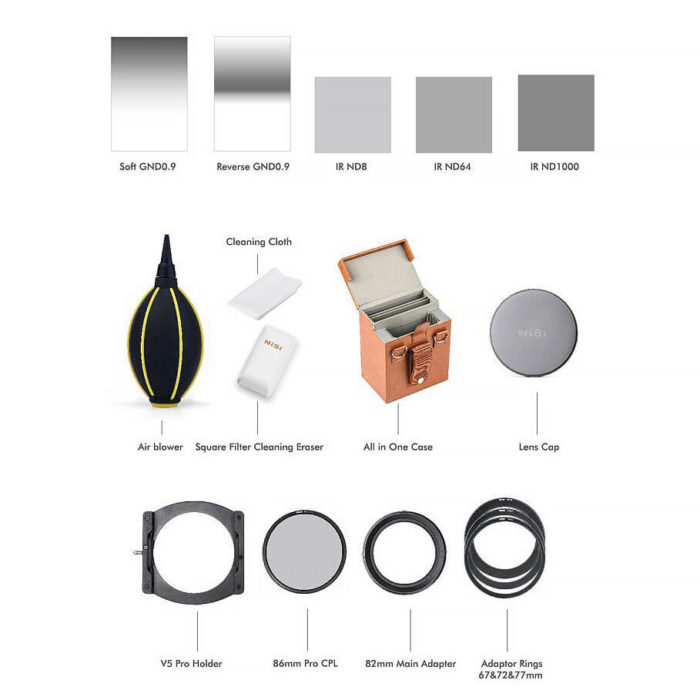 NiSi Kit filtri Advance