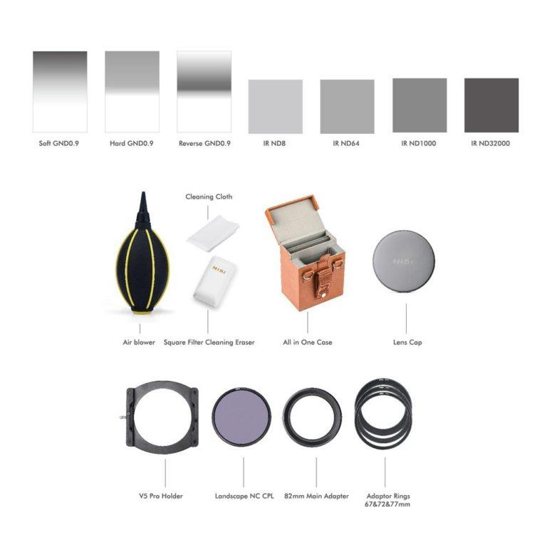 NiSi Professional Kit Filtri ND e GND