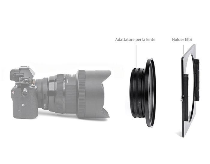 porta filtri Sigma 12-24 f4 NiSi
