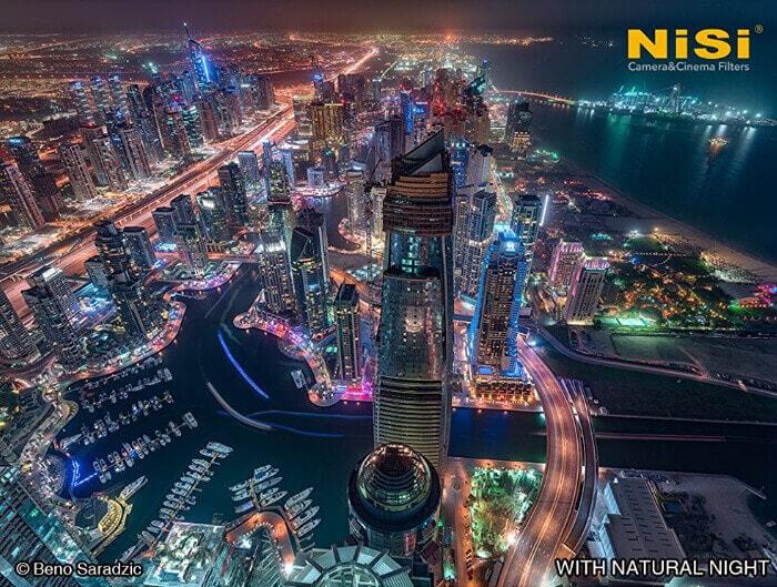 Con filtro natural night circolare