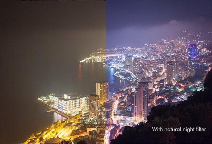 Filtro inquinamento luminoso Natural Night
