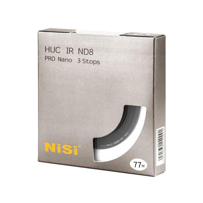 NiSi Filtro ND8 3 Stop Nano HUC Slim