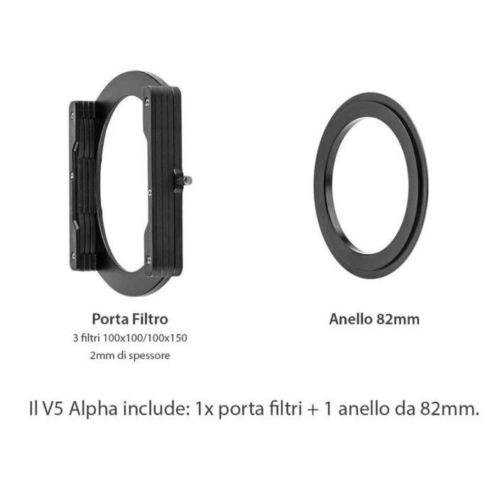 Porta filtro economico V5 ALPHA
