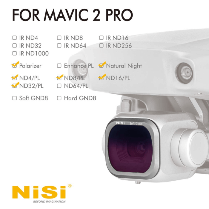 Filtri Drone Mavic 2 Pro Advance Kit Plus