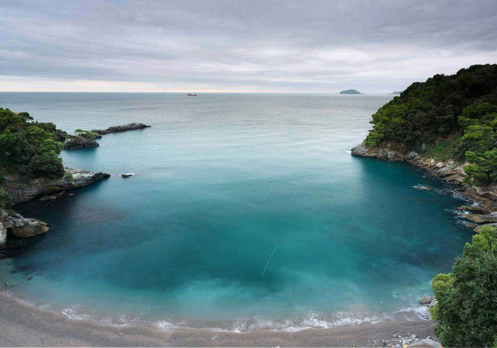 Foto con filtro polarizzatore NiSi landscape