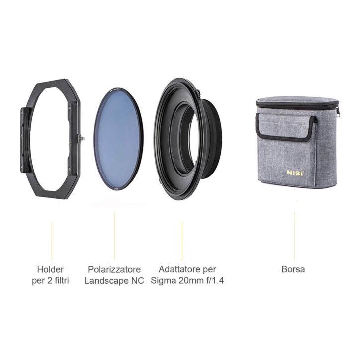 filtro nd sigma 20mm F1.4 polarizzatore landscape S5