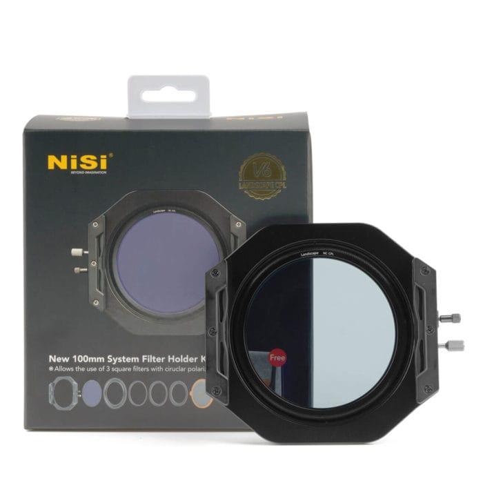 NiSi V6 Holder Filtri a Lastra CPL Landscape