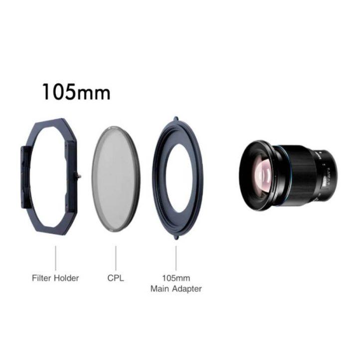NiSi S5 obiettivi filettatura 105mm con polarizzatore