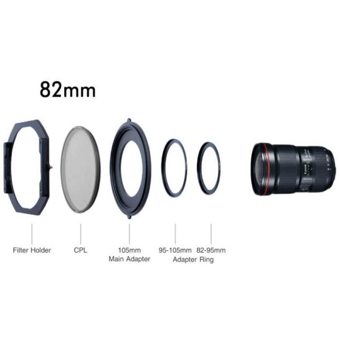 NiSi S5 obiettivi filettatura 82mm con CPL