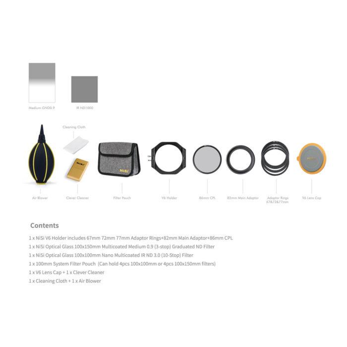 NiSi V6 Kit Starter
