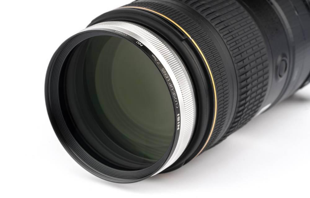 lente close up macro