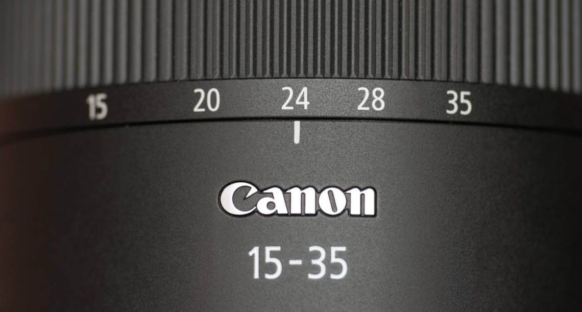 Filtro Canon 15-35 RF f-2-8L-is