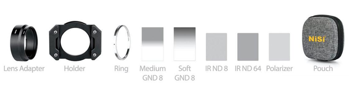 NiSi Master Kit Ricoh GR3 ND filtri