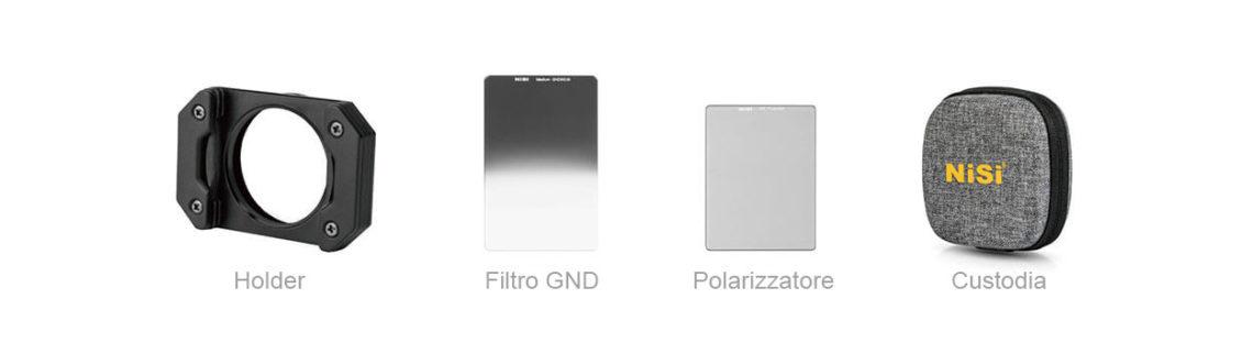 nisi gnd filtri ricoh gr2-gr3 polarizzatore