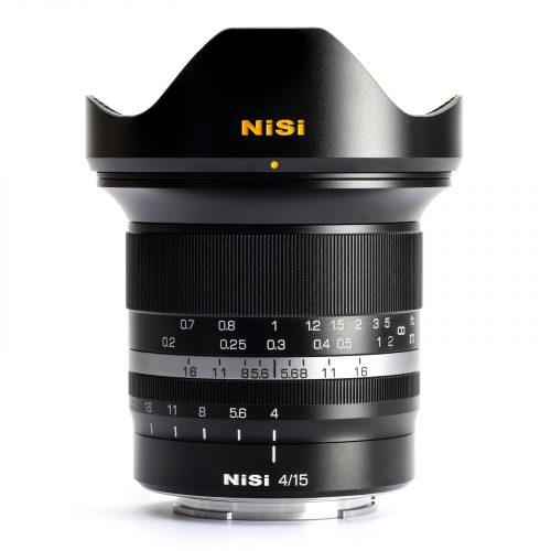 obiettivo grandangolare NiSi-15mm-f4-ASPH