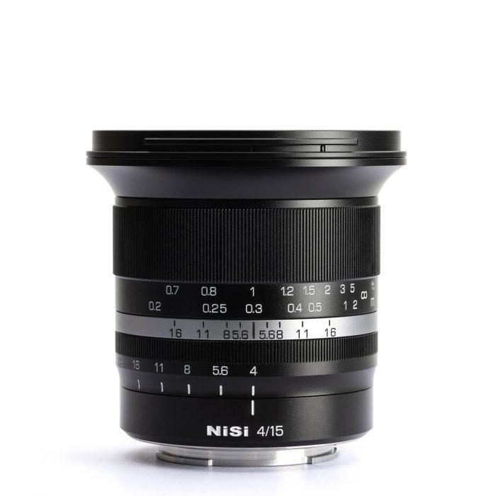 obiettivo ultra grandangolare NiSi-15mm-f4-ASPH