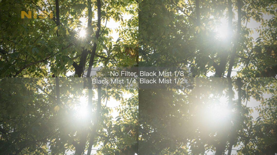 black mist 1-2 1-4 1-8 comparison